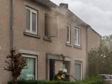 Flinke rookontwikkeling bij woningbrand in Oosterhout