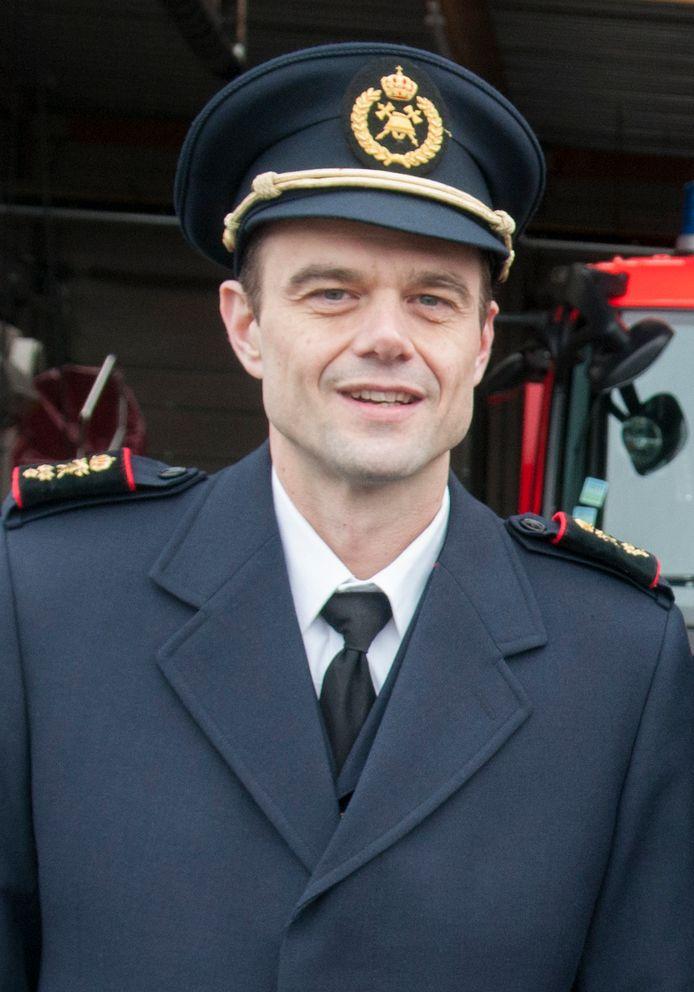 Peter De Vijlder   Zonecommandant Peter De Vijlder.