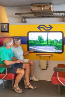 Bewoners van Ter Weel hoeven voor een treinreisje de deur niet meer uit