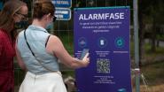 Toegangsbeperking en contacttracing op site Donkvijver lopen op eerste dag gesmeerd