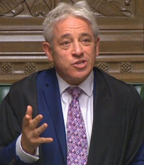 John 'order' Bercow doet boekje open over zeldzame roerige periode in Britse politiek