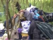 Natuurgebied Markiezaat vol rotzooi door illegale bewoner