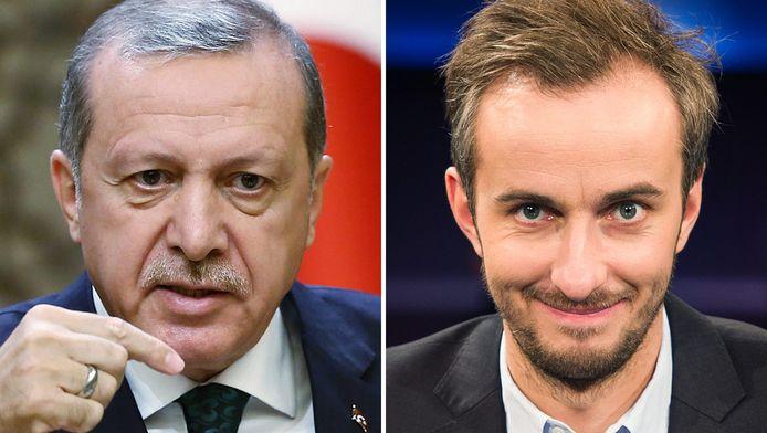 Böhmermann haalde zich met zijn satirisch programma de woede van Turks president Erdogan op de hals.