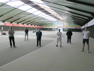 """Tennisclub 't Sas doet oproep aan Overlegcomité: """"Laat indoor tennis opnieuw toe, het coronagevaar is quasi onbestaande"""""""