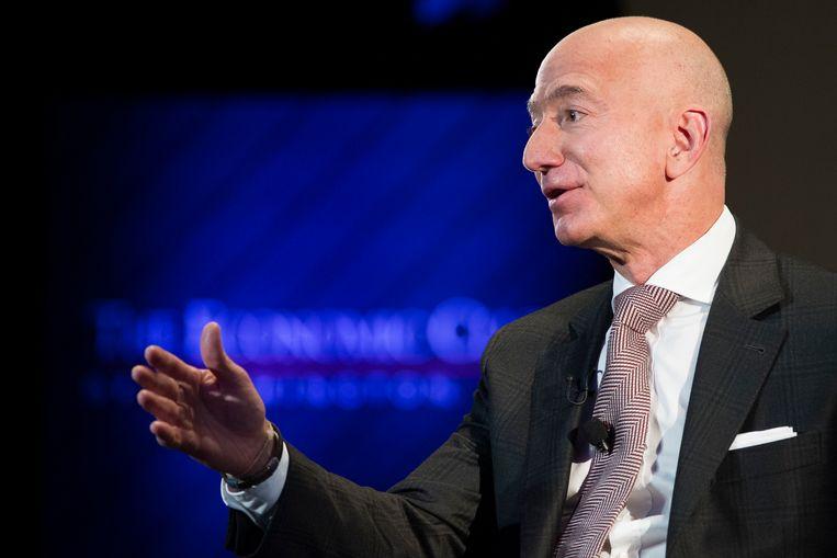 Jeff Bezos, de rijkste persoon ter wereld.  Beeld AP