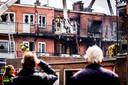 De schade in de Wouwermanstraat