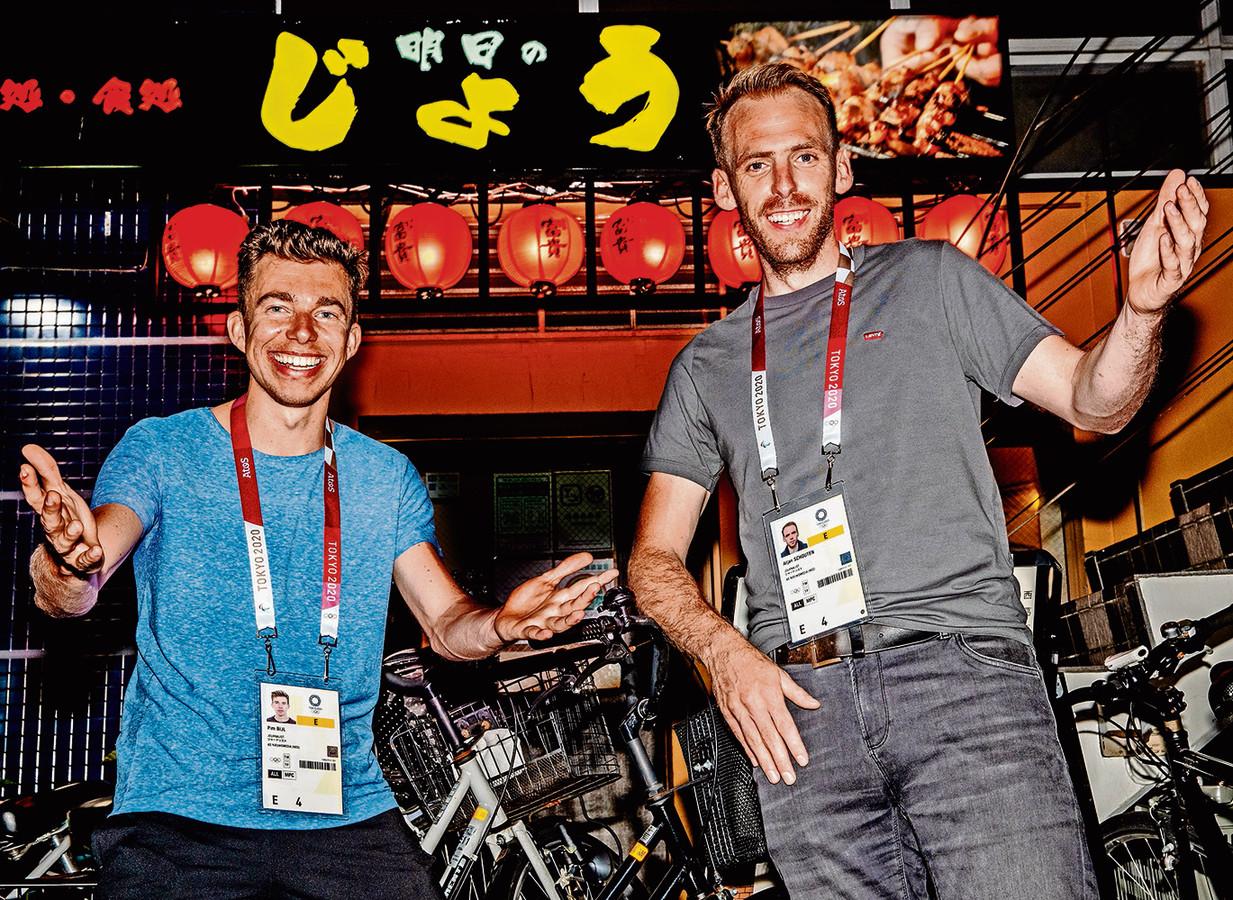 Pim Bijl (l) en Arjan Schouten.
