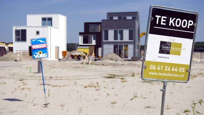 Ook mensen die een nieuwbouwwoning willen kopen kunnen met de maatregel geholpen worden.