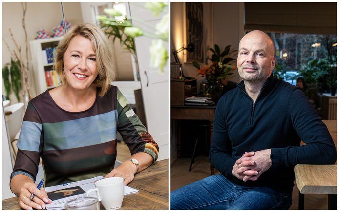 Experts Renate Groenevelt (l.) en Bert Stronks helpen geregeld werkenden die twijfelen of ze misschien ontslag moeten nemen.