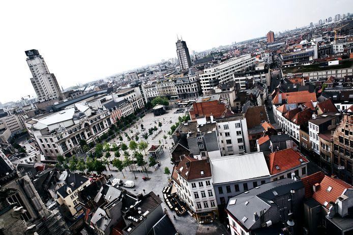 Groenplaats Antwerpen.