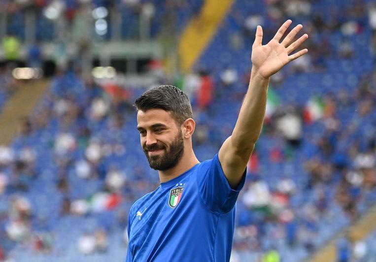 Leonardo Spinazzola. Beeld Pool via Reuters