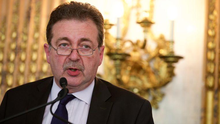 Rudi Vervoort, minister-president van het Brussels Hoofdstedelijk Gewest Beeld BELGA