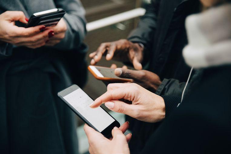 Wereldwijd hadden gebruikers maandag zeker 7 uur lang geen toegang tot de apps van Facebook. Beeld Getty Images/Maskot