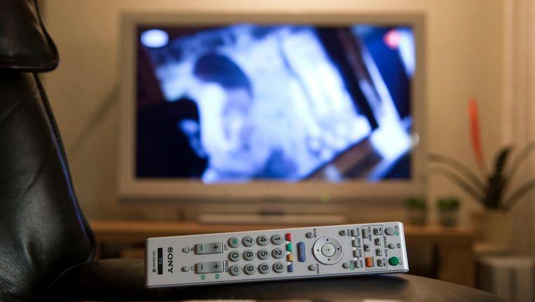 De televisie is voor kiezers nog altijd veruit de belangrijkste bron voor politiek nieuws. Beeld anp
