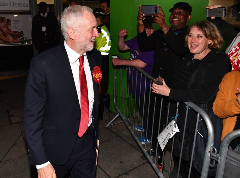 Jeremy Corbyn. Beeld Photo News