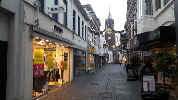 Bonita-damesmodezaak aan de Noordstraat in Terneuzen.