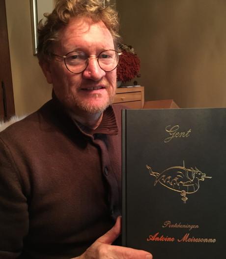 Na 16 jaar brengt Antoine Meiresonne nog eens een boek vol pentekeningen van Gent uit