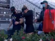 Les larmes de Simona Halep, blessée à trois semaines de Roland Garros