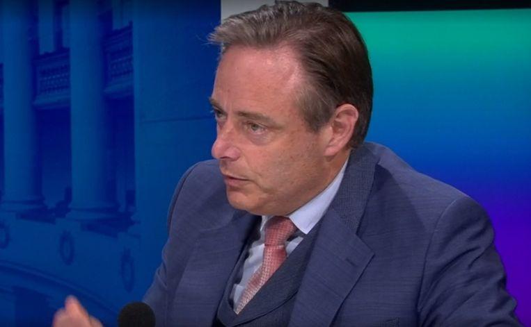Antwerps burgemeester en N-VA-partijvoorzitter Bart De Wever. Beeld VRT