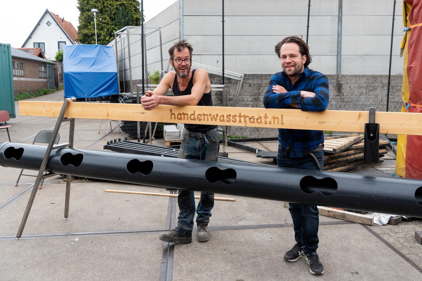 Brandwacht tentenverhuurv  verslag: Piet van Dijk