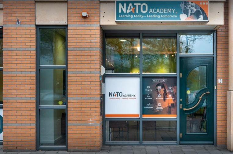Nato Academy schoonheidssalon in Eindhoven. Beeld Google Streetview