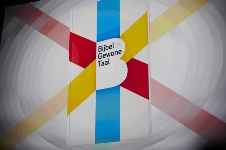 Presentatie van de Bijbel in Gewone Taal in het World Forum Beeld anp