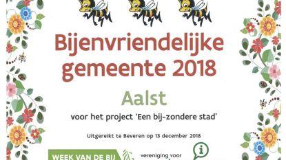Aalst is 'Bijenvriendelijke gemeente 2018'