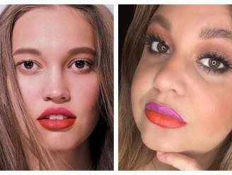 Twijfeltrend: theatraliteit troef met tweekleurige lippen