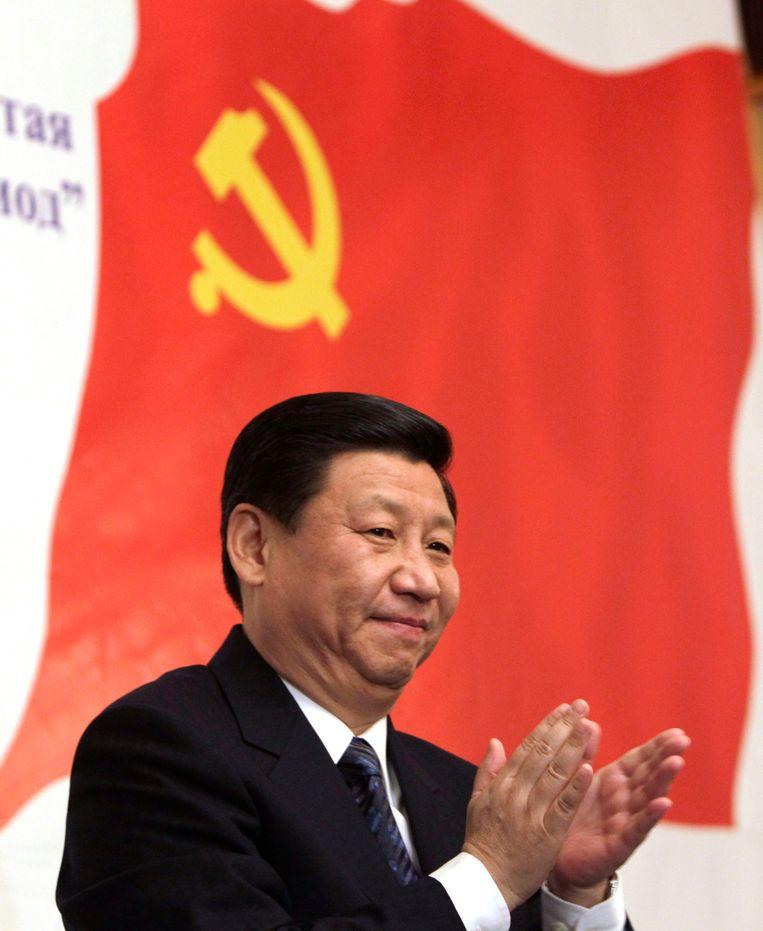 De vicepresident van China, Xi Jinping. Beeld reuters