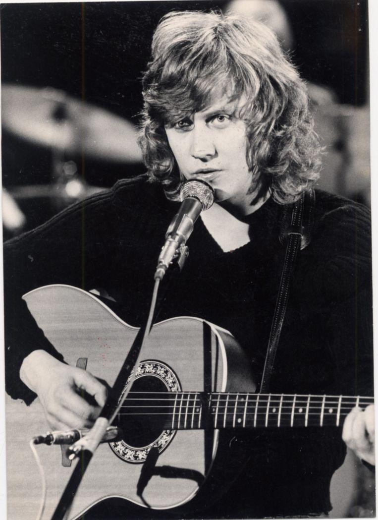 Kris De Bruyne op 24 juli, 1977. Beeld brt