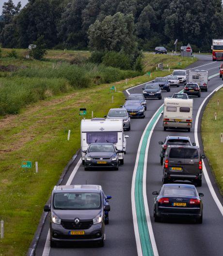 Trage kabinetsformatie remt duurdere verbreding van N50 bij Kampen, terwijl de miljoenen klaarliggen