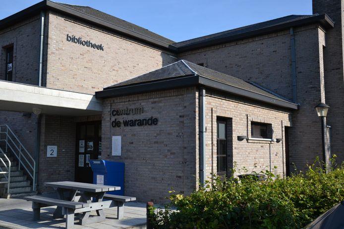 De bibliotheek aan De Warande in Haaltert.