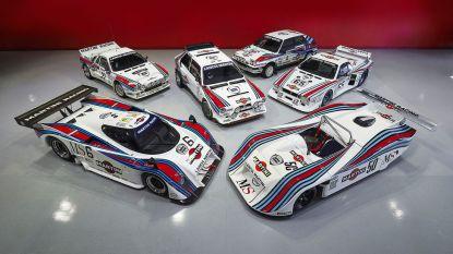 Lancia-collectie met Martini-striping maakt liefhebbers dorstig, geschatte waarde: 6,8 miljoen euro