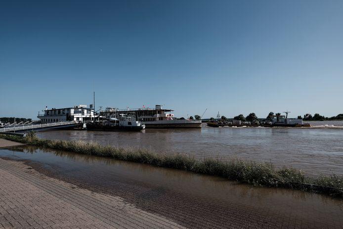 Hoogwater bij Tolkamer afgelopen weekend