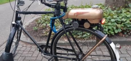 Agenten in Zwolle komen 'zelfbouw-bromfiets' tegen bij controle en vragen zich af: mag dit?