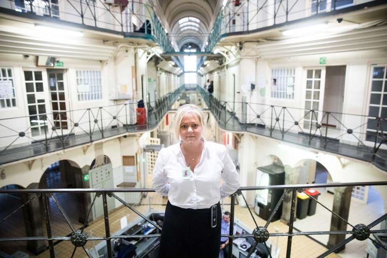 Natalie Valcke: 'Soms saboteren gedetineerden hun eigen vrijlating.' Beeld Bas Bogaerts