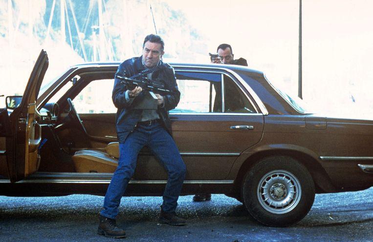 Robert De Niro en Jean Reno in Ronin. Beeld
