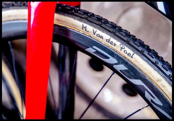 De fiets van Mathieu van der Poel