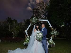 """Les grands gagnants dans la catégorie """"photo de mariage que personne d'autre n'aura"""""""