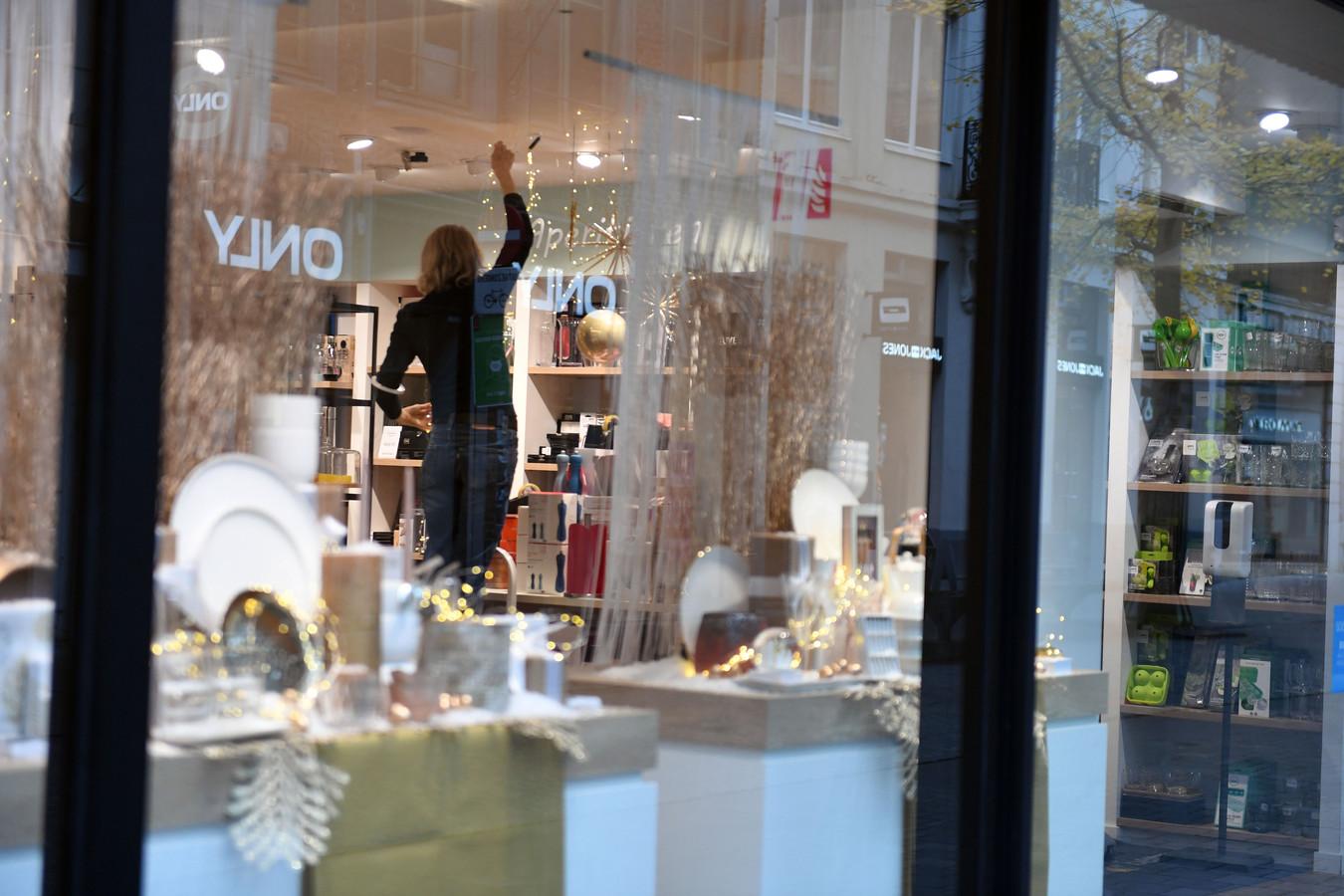 Leuvense winkeliers bereiden zich tot in detail voor op heropening