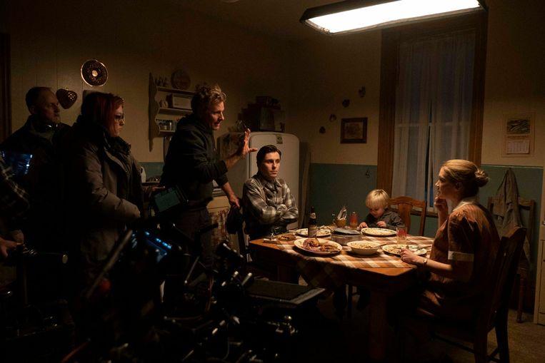 Viggo Mortensen tijdens het filmen van 'Falling'. Beeld RV