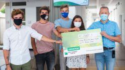 Maxime (20) schenkt 2.400 euro aan psychiatrische afdeling waar hij zelf tegen depressie vocht
