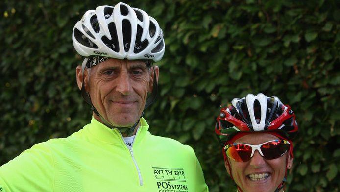 Hans van der Linden en Yvonne van Keulen (en ook haar partner Han) liepen de ziekte van Weil op