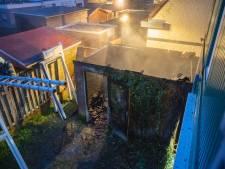 Nachtelijke capriolen voor brandweer in Deventer wegens schuurbrand