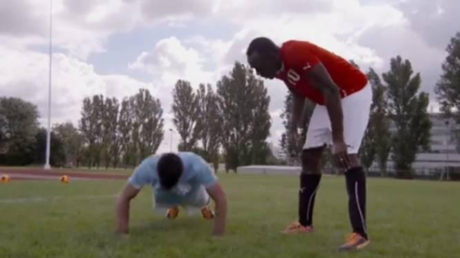 Usain Bolt geeft 'sprintles' aan Agüero