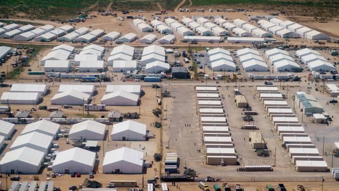 Tienduizenden Afghanen na chaotische vlucht uit thuisland nog gestrand op legerbases in VS