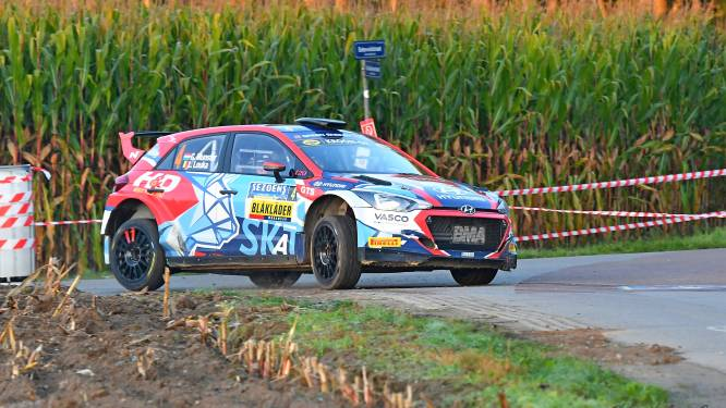 Belgische rallybelofte Grégoire Munster wint Sezoensrally in Bocholt