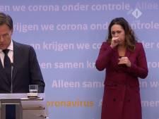 Bijna 6,5 miljoen mensen zien hoestende Irma bij persconferentie Rutte & De Jonge