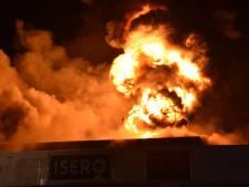 Grote brand in Goudse ijzerwarenhandel