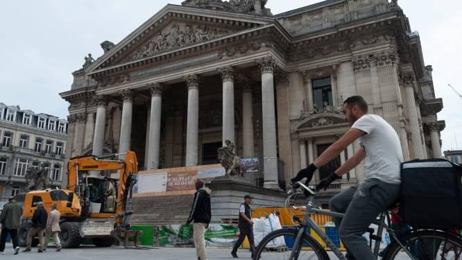 """Le budget de rénovation de la Bourse de Bruxelles augmente encore: """"Inacceptable, ça devient indécent"""""""